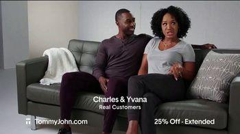 Tommy John Cyber Sale TV Spot, '25% Off Plus Free Shipping' - Thumbnail 1