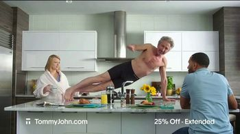 Tommy John Cyber Sale TV Spot, '25% Off Plus Free Shipping' - Thumbnail 7