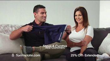 Tommy John Cyber Sale TV Spot, '25% Off Plus Free Shipping' - Thumbnail 2