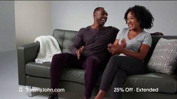 Tommy John Cyber Sale TV Spot, '25% Off Plus Free Shipping' - Thumbnail 3