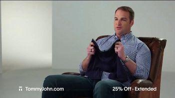Tommy John Cyber Sale TV Spot, '25% Off Plus Free Shipping' - Thumbnail 4