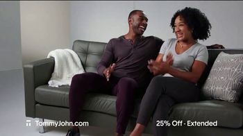 Tommy John Cyber Sale TV Spot, '25 Percent Off Plus Free Shipping'