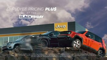 Jeep Black Friday Sales Event TV Spot, 'Employee Pricing Plus' Song by Confetti [T2] - Thumbnail 1