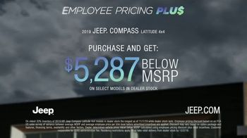 Jeep Black Friday Sales Event TV Spot, 'Employee Pricing Plus' Song by Confetti [T2] - Thumbnail 5