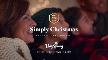 DaySpring Cards Simply Christmas Collection TV Spot, 'Flurry of Activity' Ft.Candace Cameron Bure - 11 commercial airings