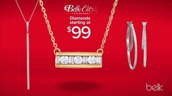 Belk TV Spot, 'Holiday Diamond Destination: 65 Percent Off Diamond Jewelry' - Thumbnail 5