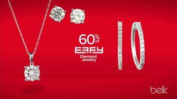 Belk TV Spot, 'Holiday Diamond Destination: 65 Percent Off Diamond Jewelry' - Thumbnail 6