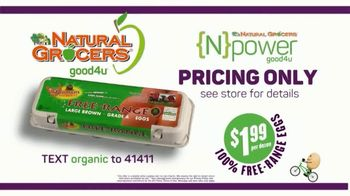 Natural Grocers TV Spot, 'Health Crusader and Organica Girl: Free-Range Eggs' - Thumbnail 9