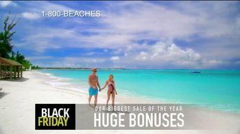 Beaches Black Friday Sale TV Spot, '$1,000 Booking Credit and Free Night' Song by Ellie Wyatt - Thumbnail 2