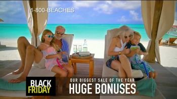 Beaches Black Friday Sale TV Spot, '$1,000 Booking Credit and Free Night' Song by Ellie Wyatt - Thumbnail 3