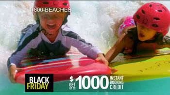 Beaches Black Friday Sale TV Spot, '$1,000 Booking Credit and Free Night' Song by Ellie Wyatt - Thumbnail 4
