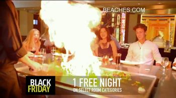 Beaches Black Friday Sale TV Spot, '$1,000 Booking Credit and Free Night' Song by Ellie Wyatt - Thumbnail 6
