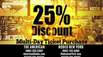 The American Rodeo TV Spot, '2020 New York: AT&T Stadium' - Thumbnail 9