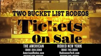 The American Rodeo TV Spot, '2020 New York: AT&T Stadium' - Thumbnail 2
