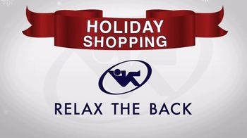 Relax the Back Holiday Shopping TV Spot, 'Take the Pain Out of Holiday Shopping' - Thumbnail 1