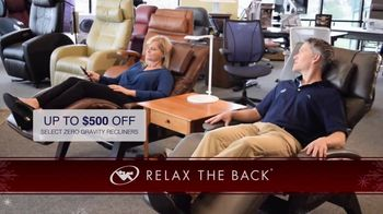 Relax the Back Holiday Shopping TV Spot, 'Take the Pain Out of Holiday Shopping' - Thumbnail 2