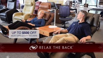 Relax the Back Holiday Shopping TV Spot, 'Take the Pain Out of Holiday Shopping' - Thumbnail 3