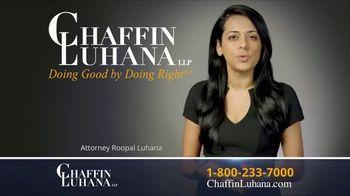 Chaffin Luhana TV Spot, 'Surgery After My Wreck'