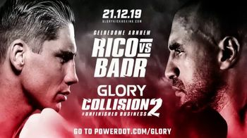 PowerDot TV Spot, 'Glory Kickboxing: Win a Trip for Two' - 3 commercial airings