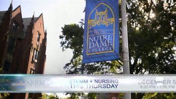 Notre Dame College TV Spot, 'STEMM + Nursing Night' - Thumbnail 2
