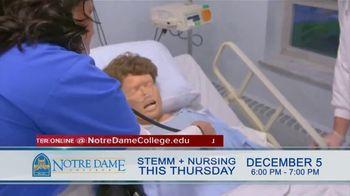 Notre Dame College TV Spot, 'STEMM + Nursing Night' - Thumbnail 3
