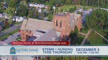 Notre Dame College TV Spot, 'STEMM + Nursing Night' - Thumbnail 5