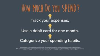PNC Financial Services TV Spot, 'Smart Sense Tip: Budgeting Your Money: How Much Do You Spend' - Thumbnail 6