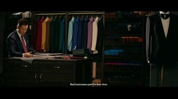 QuickBooks TV Spot, 'NFL: ESQ Suit Shop' Featuring Charles Tillman