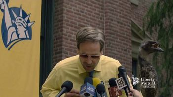Liberty Mutual TV Spot, 'Press Conference' - 13500 commercial airings