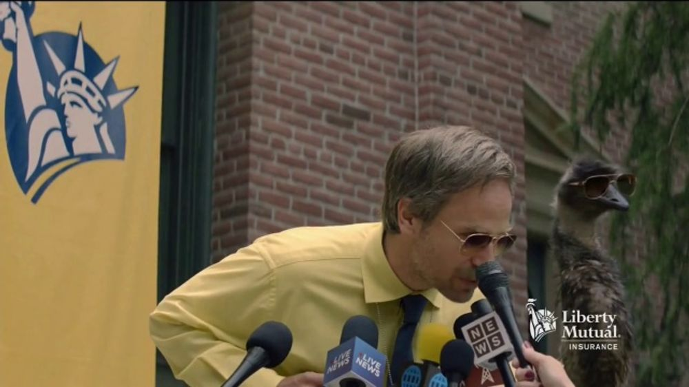 State Farm Accident Forgiveness >> Liberty Mutual TV Commercial, 'Press Conference' - iSpot.tv