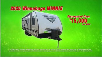 La Mesa RV Holiday RV Show TV Spot, '2020 Winnebago Minnie: $173 Per Month' - Thumbnail 6