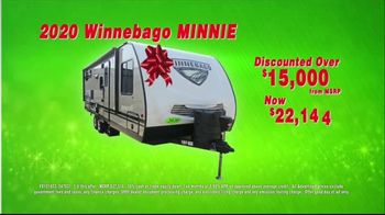 La Mesa RV Holiday RV Show TV Spot, '2020 Winnebago Minnie: $173 Per Month' - Thumbnail 7