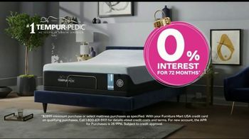 Ashley HomeStore TV Spot, 'Home for the Holidays: Chime Mattress + Zero Percent Interest' Song by Midnight Riot - Thumbnail 6