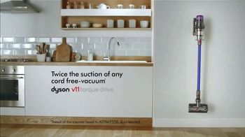 Dyson V11 TV Spot, 'Twice the Suction: $200' - Thumbnail 9
