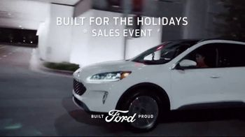 Ford Built for the Holidays Sales Event TV Spot, '2020 Ford Escape: Santa Bobble Head' [T1] - Thumbnail 10