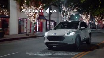 Ford Built for the Holidays Sales Event TV Spot, '2020 Ford Escape: Santa Bobble Head' [T1] - Thumbnail 2