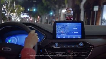 Ford Built for the Holidays Sales Event TV Spot, '2020 Ford Escape: Santa Bobble Head' [T1] - Thumbnail 5