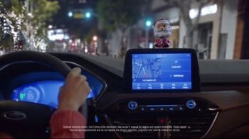 Ford Built for the Holidays Sales Event TV Spot, '2020 Ford Escape: Santa Bobble Head' [T1] - Thumbnail 6