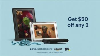 Portal from Facebook TV Spot, 'Holidays: Sweet Gift: Any Two' - Thumbnail 10