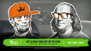 DraftKings Sportsbook TV Spot, 'Risk-Free Bet: $500'