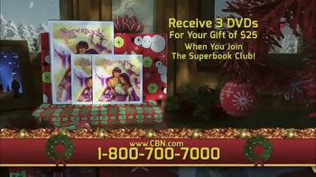 CBN Superbook Club TV Spot, 'The Promise of a Child' - Thumbnail 4