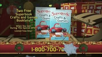 CBN Superbook Club TV Spot, 'The Promise of a Child' - Thumbnail 6