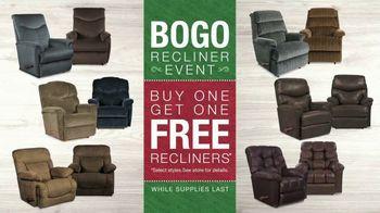 La-Z-Boy Holiday Sale TV Spot, 'BOGO Recliner Event' - Thumbnail 7