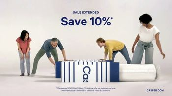 Casper Black Friday and Cyber Monday TV Spot, 'Sale Extended' - Thumbnail 3