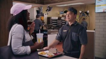 McDonald's $1 $2 $3 Dollar Menu TV Spot, 'Acceptance Speech: McChicken & Soft Drink' - Thumbnail 4