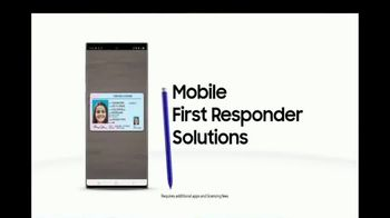 Samsung Galaxy Note10 TV Spot, 'Mobile First Responder Solutions: Speeding Ticket' - Thumbnail 8