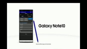Samsung Galaxy Note10 TV Spot, 'Mobile First Responder Solutions: Speeding Ticket' - Thumbnail 9