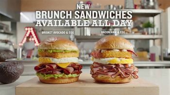 Arby's Brunch Sandwiches TV Spot, 'Brunch for Brunch'