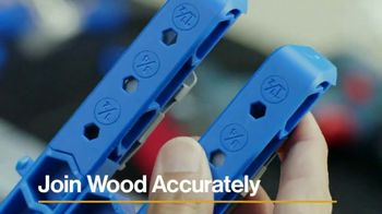 Kreg Pocket-Hole Jig 320 TV Spot, 'Join Wood Accurately'