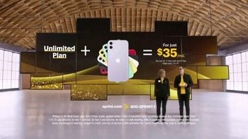 Sprint Unlimited TV Spot, 'Holidays: iPhone 11 for $35 a Month per Line' - Thumbnail 4